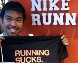 Nike Running Sucks Shirt