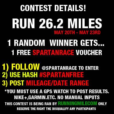 Spartan Race Contest