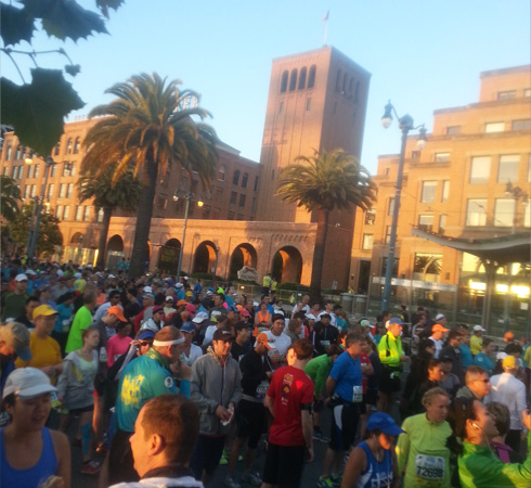 San Francisco Marathon Starting Line