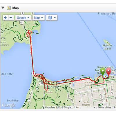 US Half Marathon Map