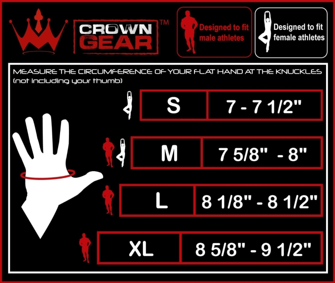 Crown Gear Glove Size